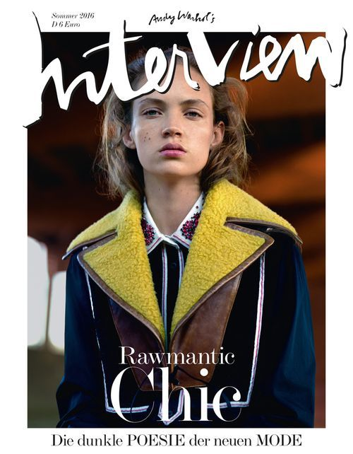 INTERVIEW - JUNI 2016 - FASHION COVER (LIMITED!)