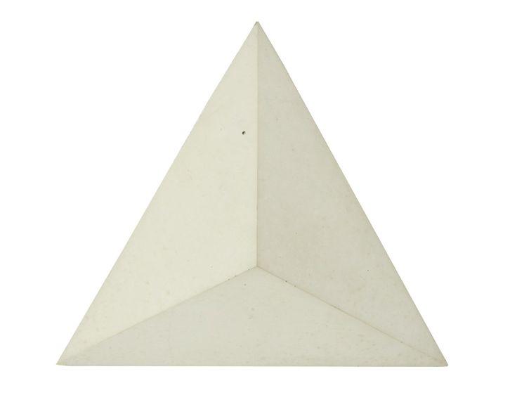 Płytka 3D Pyramids - Biała - zdjęcie od Bettoni - Beton Architektoniczny - Kuchnia - Styl Nowoczesny - Bettoni - Beton Architektoniczny