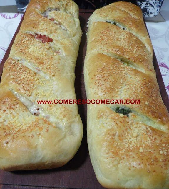 PÃO TEMPERADO RECHEADO DO DANIEL - Receitas Culinárias