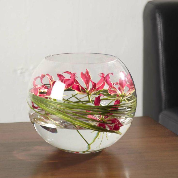 Floralcraft 15cm Fish Bowl Vases For Wedding Decoration Flowers
