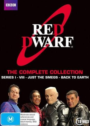 Red Dwarf: The Complete Collection by Chris Barry,Norman Lovett,Danny John-Jules,Craig Charles,Doug Naylor.  Dave Lister is the last human being in the universe. A lowly technician on the mining ship Red Dwarf, he wakes up one day to find that the rest of the crew have been killed by a radiation leak. He has been in stasis for three million years. He is doomed to drift in space for the rest of eternity with only 2 companions: the hologram of his former crewmate, Rimmer and a creature called…