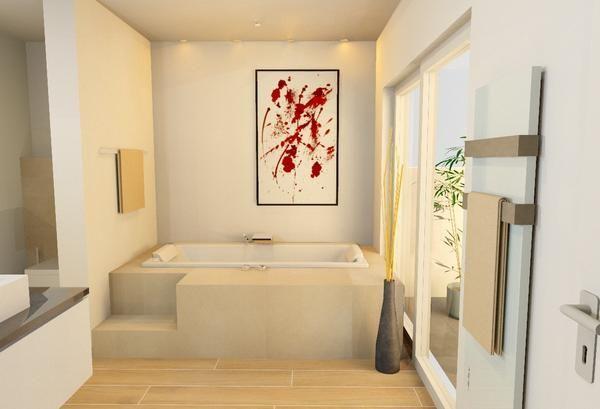 Badewanne - Komfortabler Wannenbereich | roomido.com