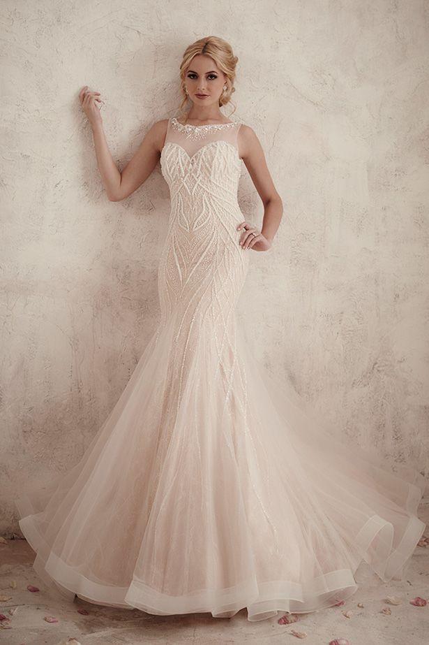 Christina Wu Mermaid Style Wedding Dress