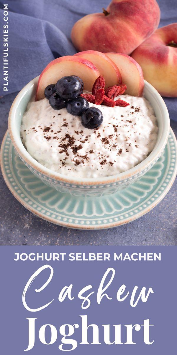 Cashew Joghurt Selbstgemacht Recept