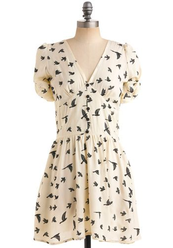 Bird dress by Sugarhill Boutique with great detailing