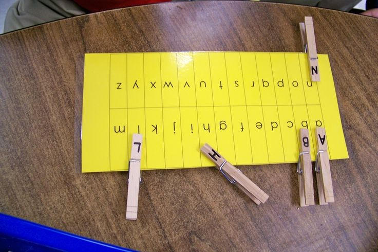 letter identification and fine motor!