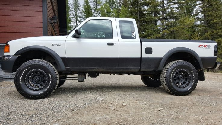 2004 ford ranger 4 inch lift 33s