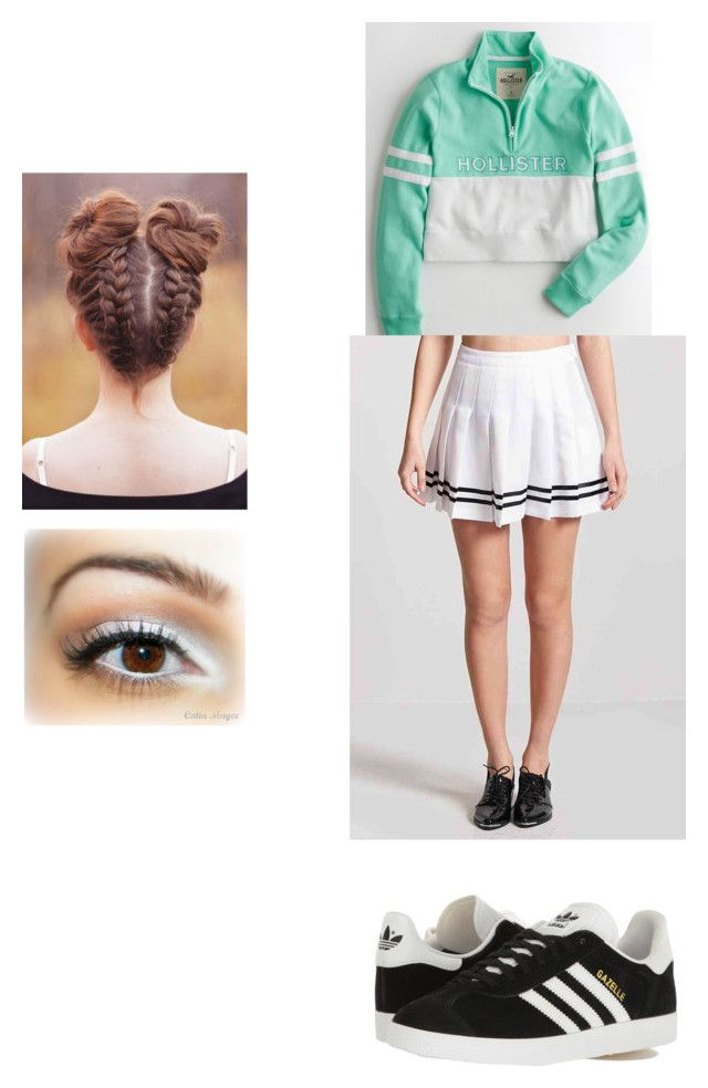 Jackie Tennis by poojah0009 on Polyvore featuring polyvore fashion style Hollister Co. Forever 21 adidas Originals clothing