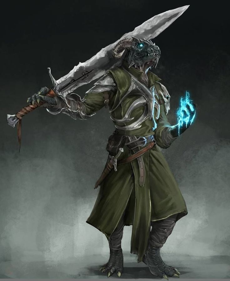 Pin by Tyler Stratton on Character Concept   Dnd dragonborn, Dungeons and dragons characters ...