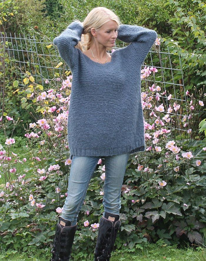 strikketrøje strikkekit
