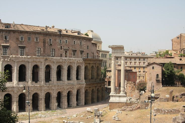 What to see in Rome? The Marcellus theatre!