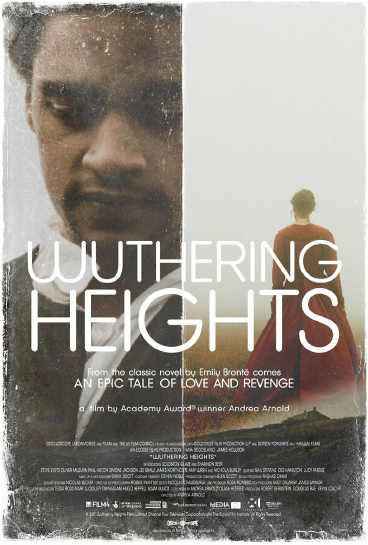 Heathcliff...Heathcliff. The original sociopathic, Byronic-emo hero from Emily Bronté's Wuthering Heights.