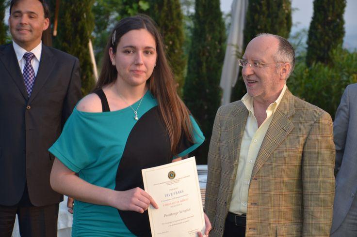 Veronica e Dott. C. Capitini Serata di Gala 29/5/2012