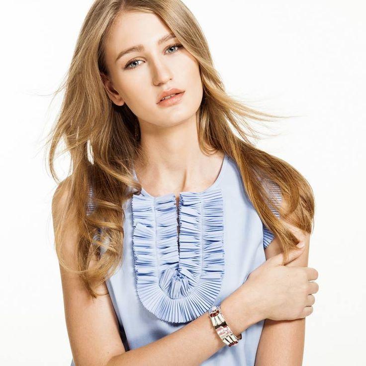 Jelení šperky -  - Dokonalin Stříbrná, Modelka: Karolína Vavřichová – finalistka CZTM 2014