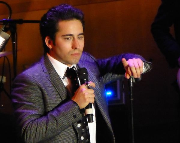Photo Coverage: John Lloyd Young Debuts MY TURN at Segerstrom Center