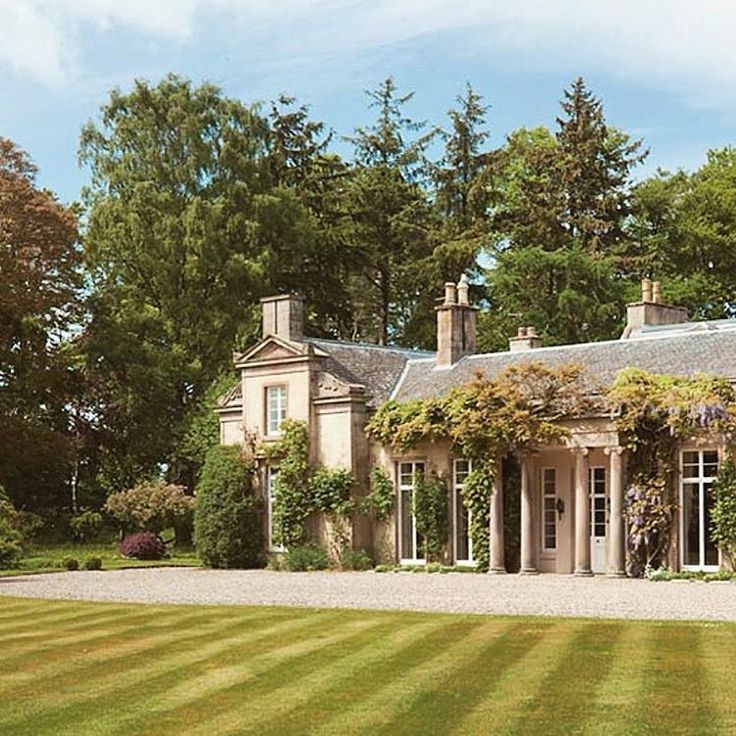 "920 Likes, 28 Comments - Howie Guja (@howieguja) on Instagram: ""Grade A listed Scottish estate for sale - 25 acres of fields, forests, gardens, along with separate…"""