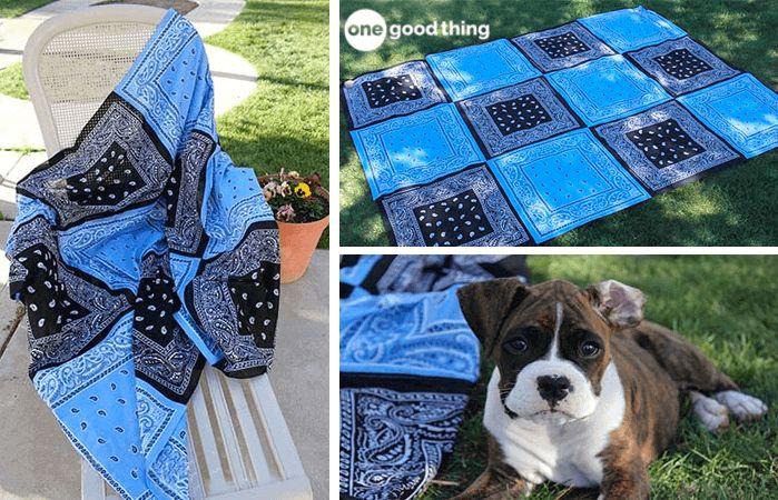 Make Your Own Super Versatile Bandana Quilt! · Jillee – Sewing bliss