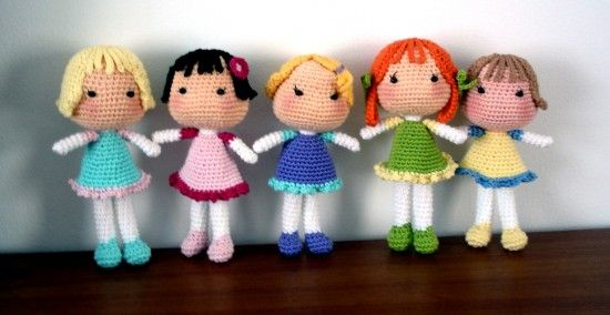 Cute Crochet Dolls Free Patterns With Video   The WHOot