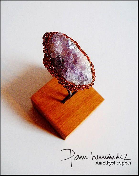 Amatista cobre esmaltado