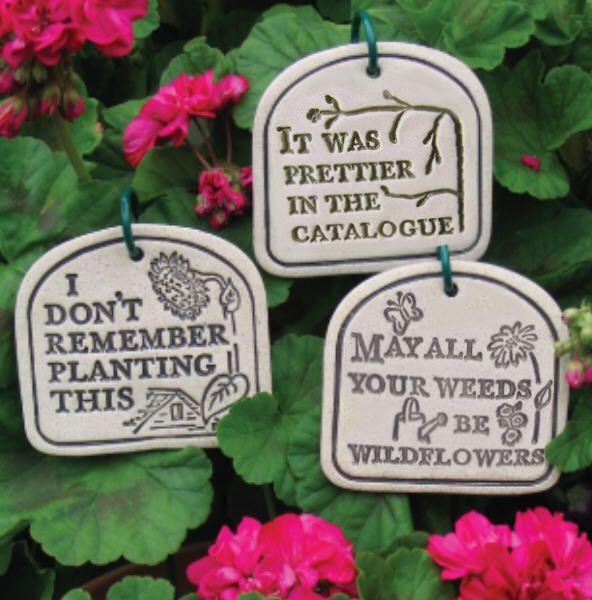 Funny Quote Garden Plant 592 X