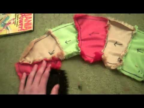 How to make a fursuit tutorial: the tail