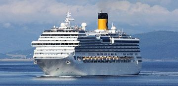 Costa Cruises cruise ship Costa Pacifica. Track the cruise ship, live, in real time.