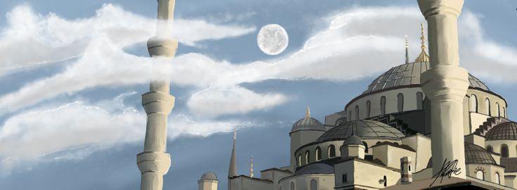 Sultanahmet Mosque by seantriana