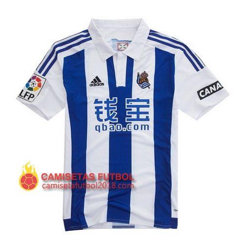 Primera camiseta Tailandia del Real Sociedad 2015 2016 Camiseta Real Sociedad 2018 | Equipacion Real Sociedad 2018