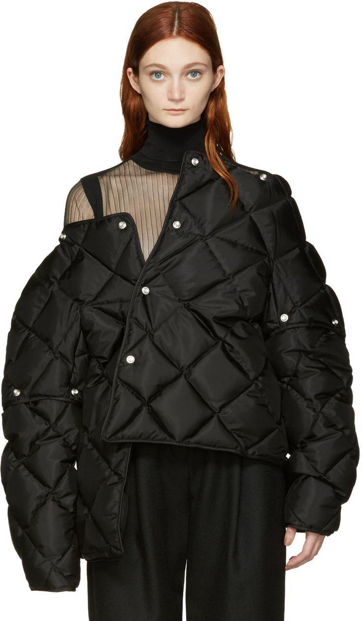 Acne Studios - Black Down Bobbi Jacket