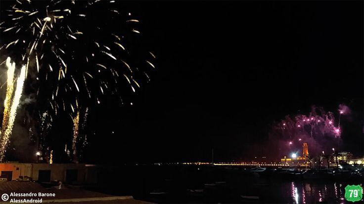 #Bari #Puglia #Italia #Italy #Viaggi #Viaggiare #Travel #FuochiDArtificio #FuochiPirotecnici #Lungomare #Sea #Light