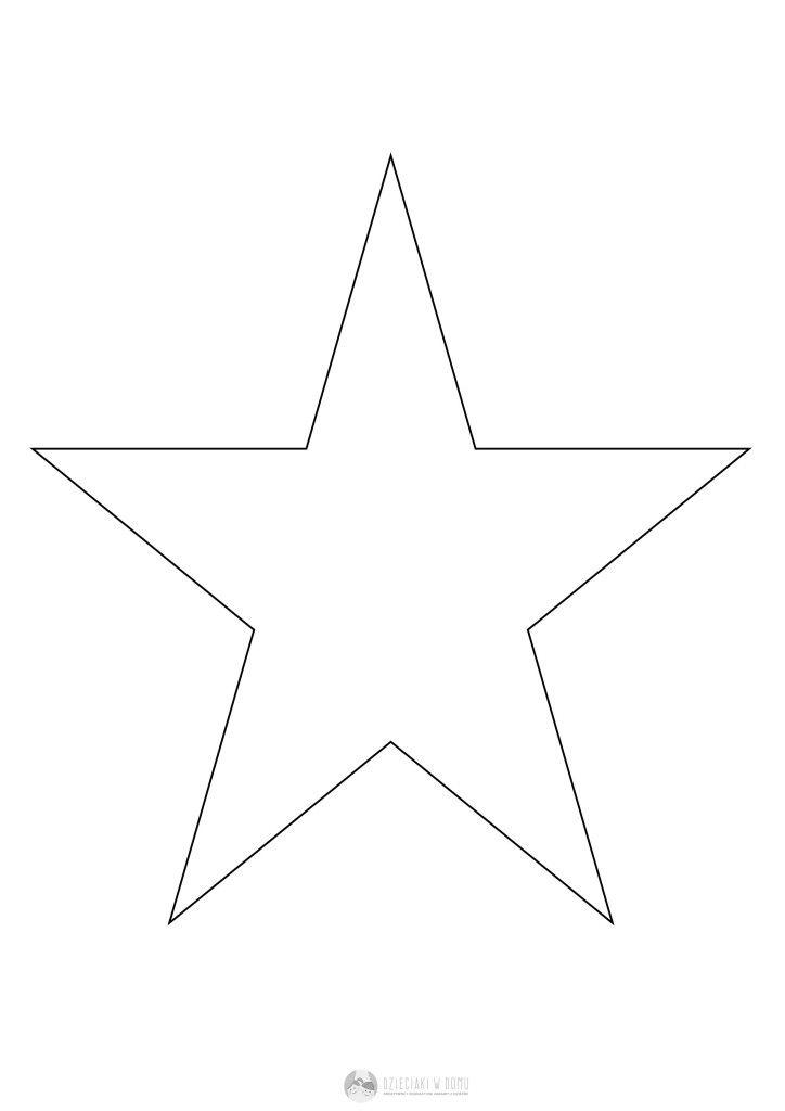 gwiazdka szablon