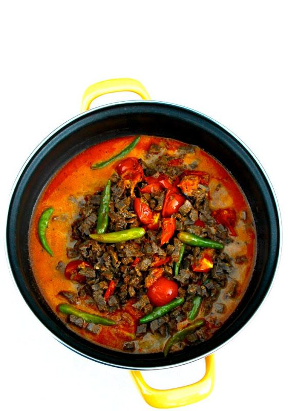 ~Elra's Cooking~: Beef Sambal With Lemongrass