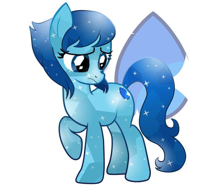 #884915 - artist:noerusan, crystal pony, lapis lazuli, ponified, safe, solo, steven universe - Derpibooru - My Little Pony: Friendship is Magic Imageboard