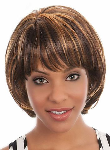 Short african american wigs from Cocowig
