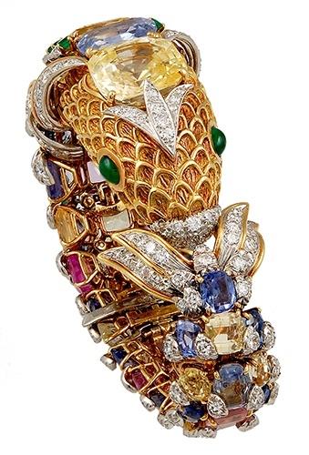 David Webb Diamonds, Sapphires and Gold- L.S.