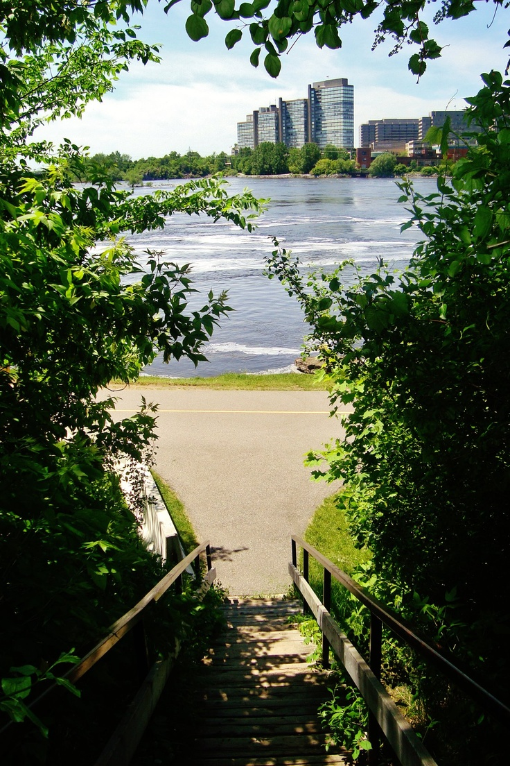 Gatineau, vu de Ottawa