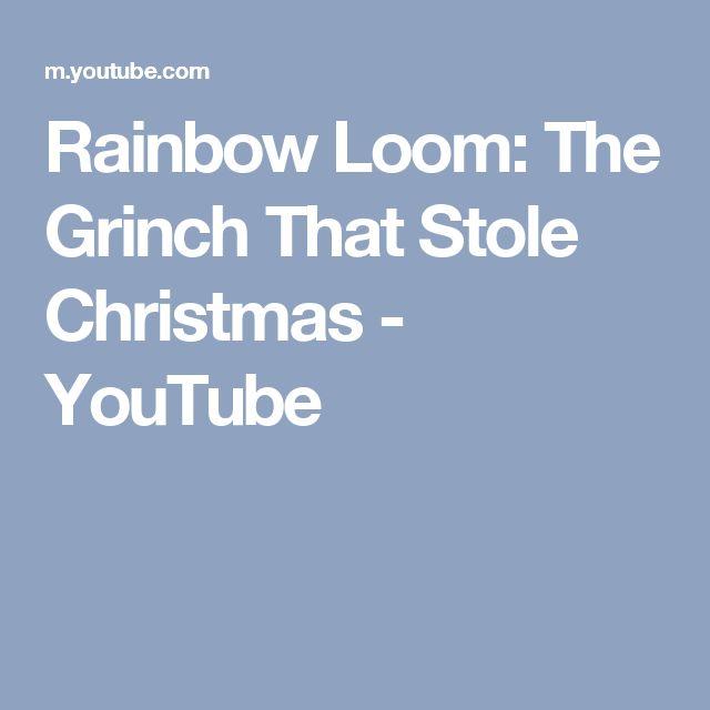 Best 25+ Rainbow Loom Christmas Ideas On Pinterest