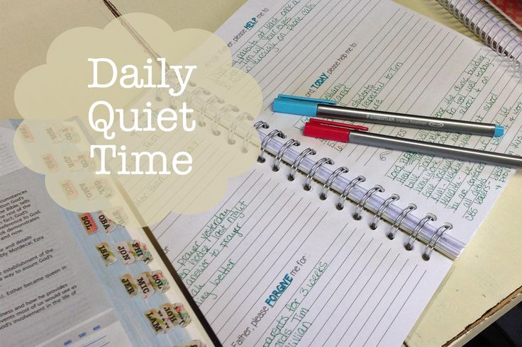 These prayer journals are a great way to commit to daily quiet time with the Lord.