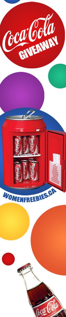Win a Coca-Cola Mini Fridge