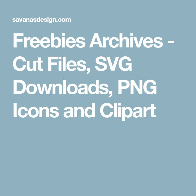 Freebies Archives - Cut Files, SVG Downloads, PNG Icons and Clipart