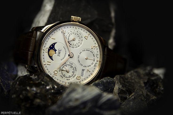 IWC Portugese Perpetual Calendar 5023-06 watch - for sale - Govberg via Perpetuelle