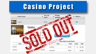 NEW BREAKING RECORD: 7000 casino shares SOLD OUT in minutes !!