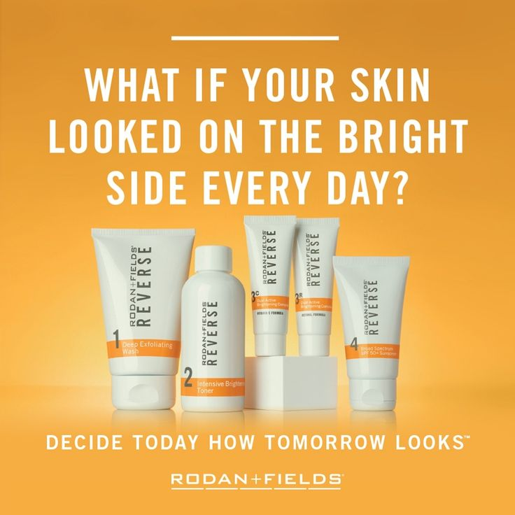 REVERSE REGIMEN FROM RODAN+FIELDS FOR THE APPEARANCE OF BROWN SPOTS, DULLNESS AND DISCOLORATION  vanessaengel.myrandf.com
