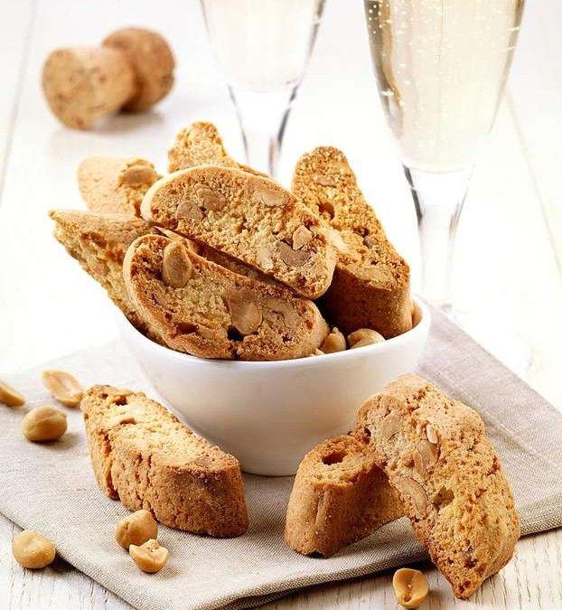 Cantuccini alle arachidi