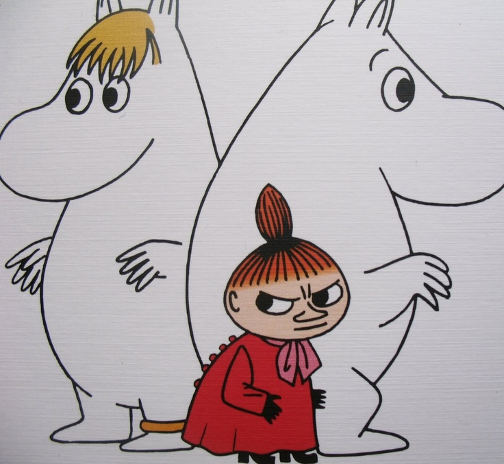 Moomintroll, the SnorkMaiden & little My