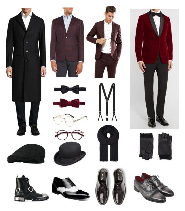 """Rico's classy style"" by arini-lioni on Polyvore featuring Burberry, Berluti, English Laundry, Jack & Jones, Prada, Stacy Adams, Alexander McQueen, Salvatore Ferragamo, EyeBuyDirect.com and Scala"