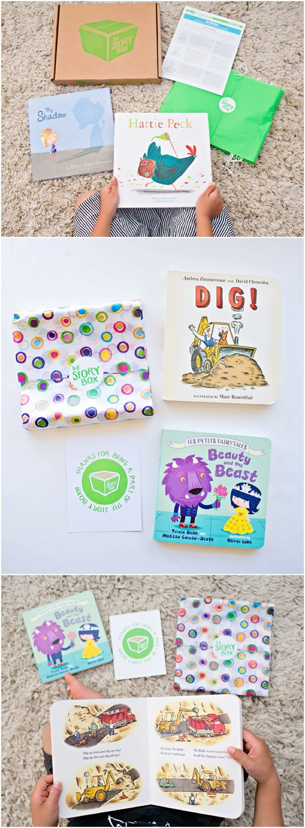 The Story Box: A Surprise Monthly Delivery of Books for Your Kids.