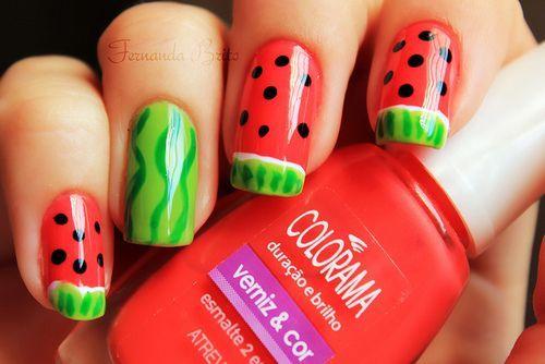 Fresh Fruit Nails For Summer