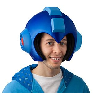 Wearable Mega Man Helmet: Scale Replica | ThinkGeek