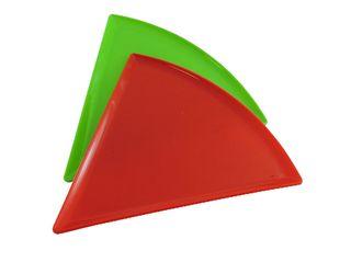 Set de 4 Platos Triángulo para Pizza
